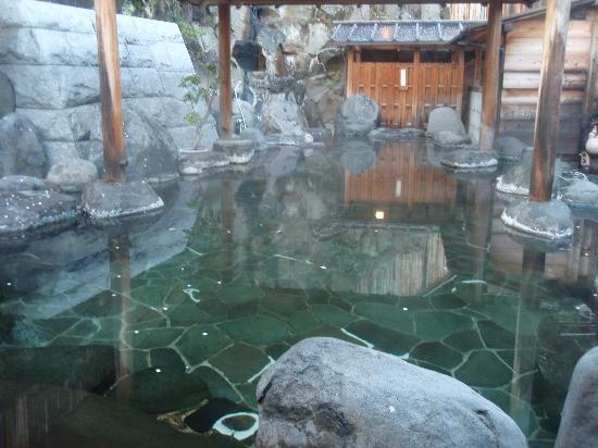 Sanpoen : 露天風呂