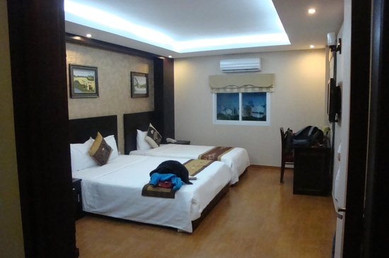 Pearl Suites Hanoi Hotel: our family room