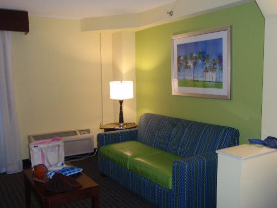 Holiday Inn Hotel & Suites Daytona Beach: Living room area