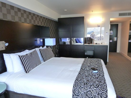 Amora Hotel Wellington: Deluxe King room at the Amora Wellington