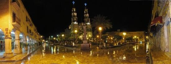 San Juan de Los Lagos, Mexiko: vista nocturna