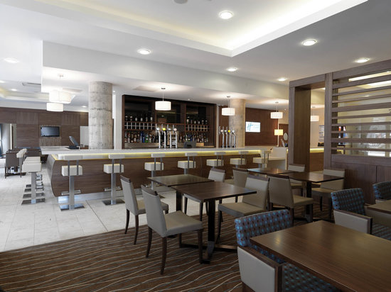 Holiday Inn Express Sheffield City Centre: Restaurant serves evening meals from 6-10pm