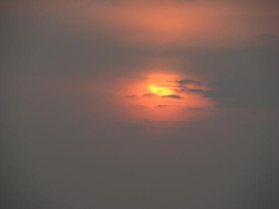 Radhanagar Beach : romantic sun set