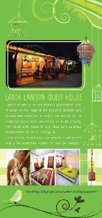 Lanta Lantern Guest House: Flyer