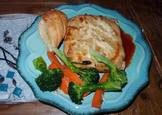 Cafe Mimosa: Lasagna Plate at Café Mimosa