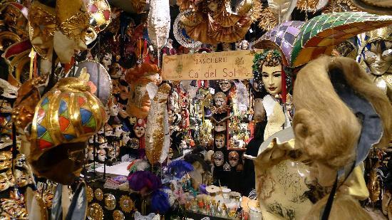 Ca Del Sol Venetian Mask Shop Picture Of Ca 39 Del Sol
