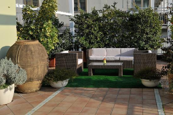 Hotel Montestella: Terrazza