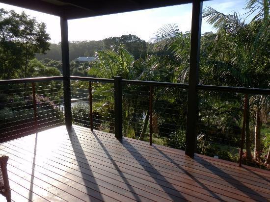 Allara Homestead Bed & Breakfast: Our Deck