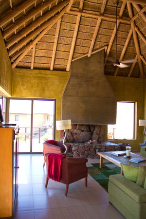 White Lion Lodge: Guest lounge