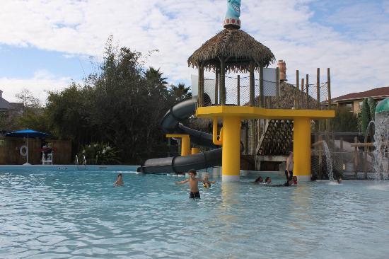 Liki Tiki Village: Pool area