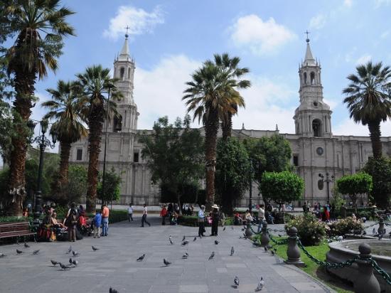 Hostal Arequipa Inn : Plaza de Armas