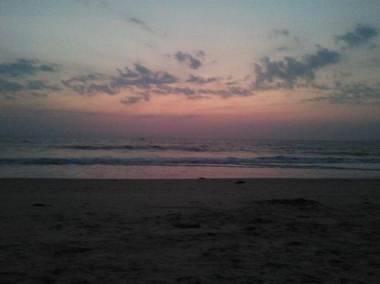 Utorda Beach: Sunset