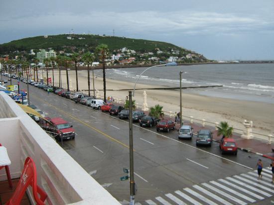 Hotel Rivadavia: Vista desde el balcon de la habitacion