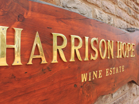 Harrison Hope Wine Estate: Harrison Hope Front Gate