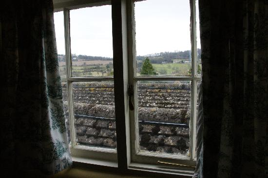Cardynham House: view form one of the windows in the new england room.