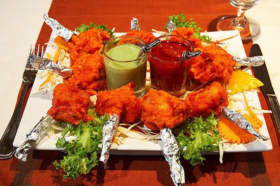 Nawab Authentic Indian Cuisine & Banquet Hall: Lolipop Chicken
