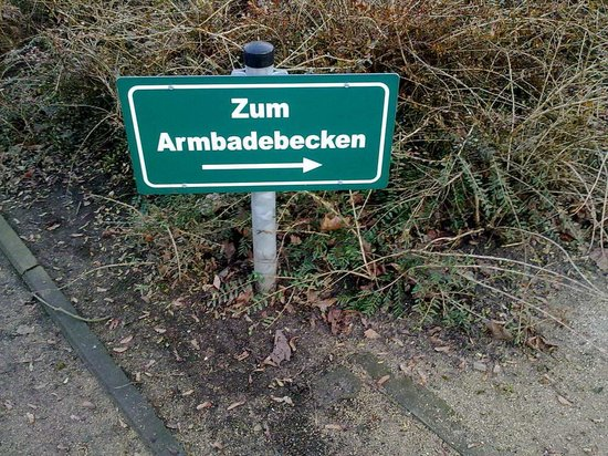 Furth Stadtpark: Armbadebecken Fürther Stadtpark