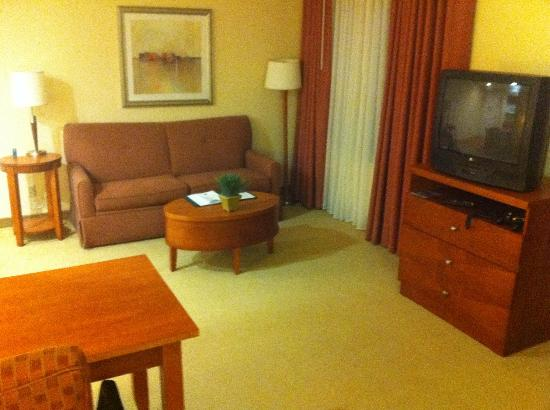 Homewood Suites Dulles - North / Loudoun: Living Room