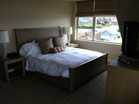 The Chrysalis Inn & Spa: This bed fits the entire family