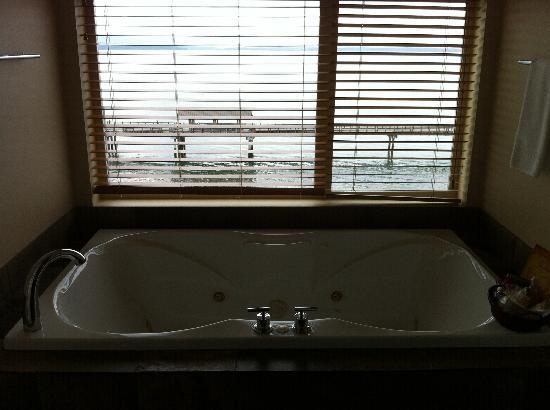 The Chrysalis Inn & Spa : ocean view while you take a bath. no biggie