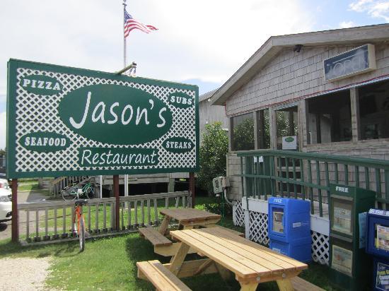 Jason's : Außenansicht des Restaurants