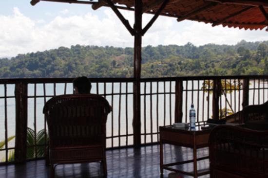 Jinetes de Osa Hotel: On the terrace, Jinetes de Osa