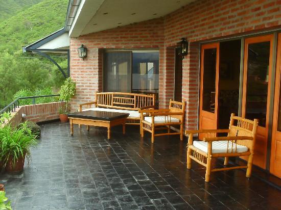Hotel del dique balcon del salon comedor del hotel