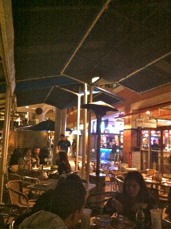 Latin American Bayside Cafe : Outdoor Seating Area