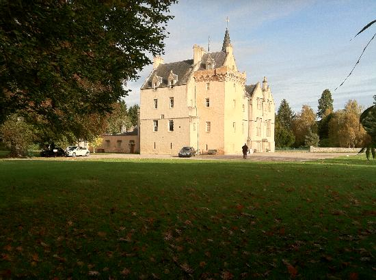 Brodie Castle from the woods
