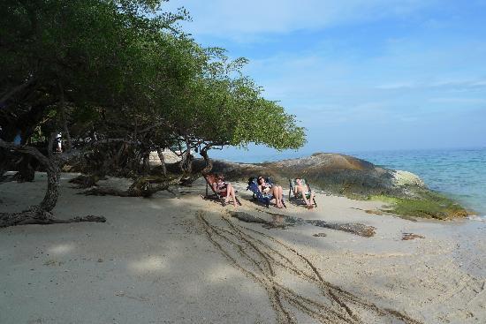 Baan Thai Sang Thian Resort : Stranden