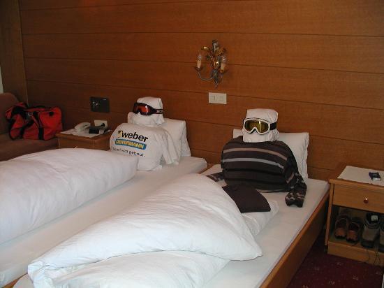 Hotel Rendlhof: Idee vom Zimmerservice