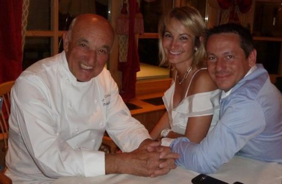 Le Chabichou : Michel Rochedy Chef Etoilé depuis plus de 25 ans...