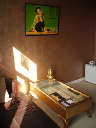 Blue Moon Bed & Breakfast Amsterdam: sitting room