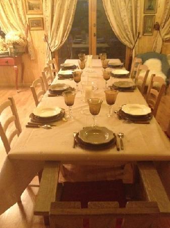 Chalet l'Aigle Bleu : encore une très belle table����