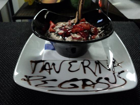 "Taverna Pegasus: ""cheese mousse"""