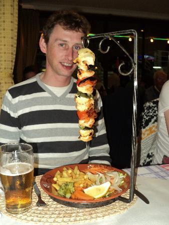 The Chicken Kebab! Netto's Feb 2012