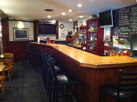 Ducks and Drakes: Newly Constructed Bar