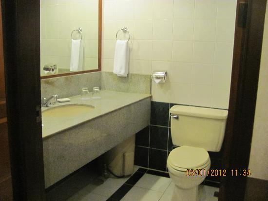 Berjaya Makati Hotel - Philippines: Bathroom in the Berjaya Hotel