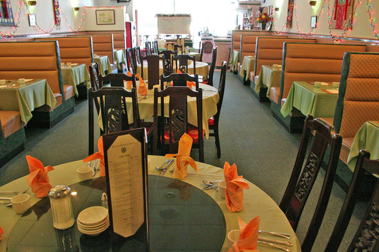 Hunan Inn Chinese Restaurant: Airy and comfortable atmosphere
