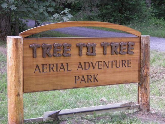 Tree to Tree Adventure Park : Sign at entrance