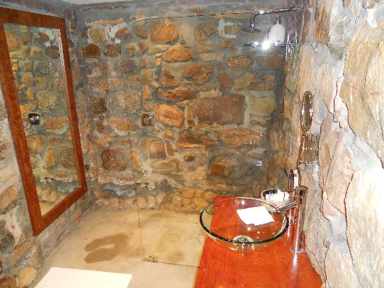 Rutland Lodge: stunning shower room