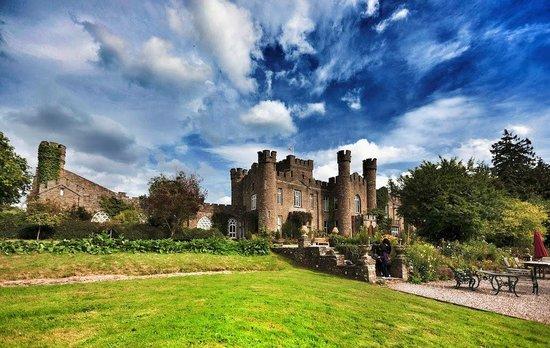 Augill Castle's big sky