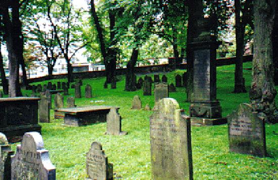 Ghost Walk of Historic Halifax: The Old Burying Ground, Halifax, Nova Scotia, Canada