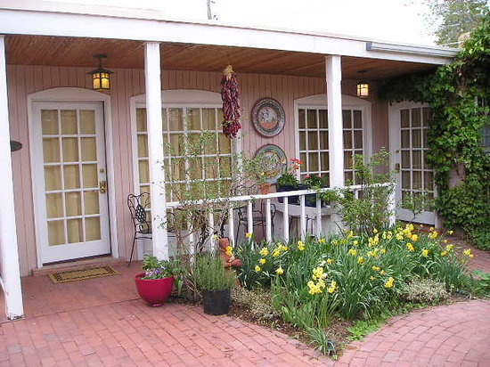 Don Gaspar Inn: We are famous for our gardens