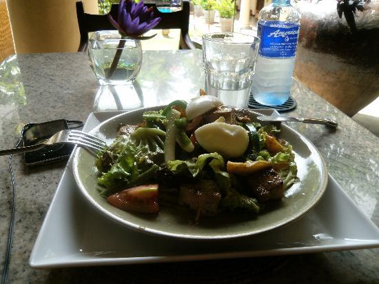 Galle Fort Hotel Restaurant: ensalada