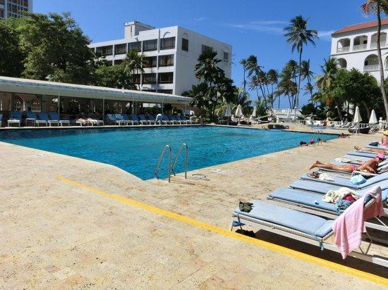 Hotel Caribe: Pola area