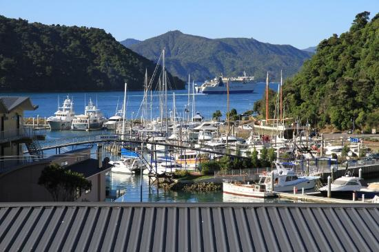 Harbour View Motel Picton: Harbour view from room