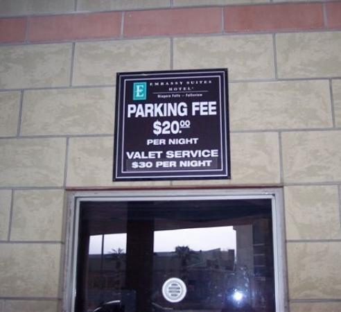 Niagara fallsview casino parking cost