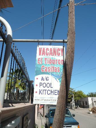 El Tiburon Casitas: From Davis street