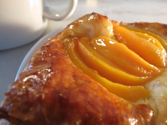 Fresh Flours: Peach Danish